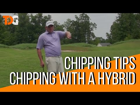 Chipping Tips – Chipping with a Hybrid – Tyler Dice Golf