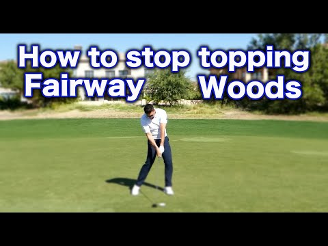 How to stop topping your fairway woods | Golf Tips
