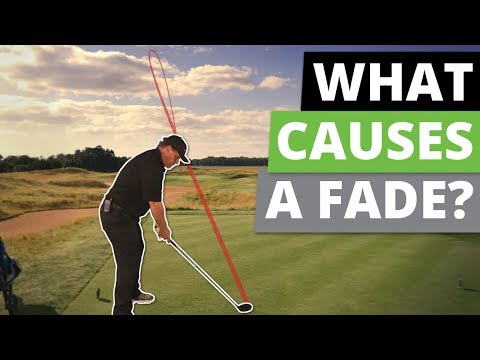 How to Fix a Fade in Your Golf Swing   Golf Swing Drill