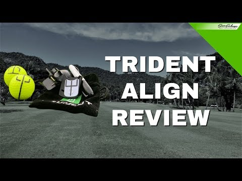 TRIDENT ALIGN GOLF REVIEW #TRIDENTALIGN