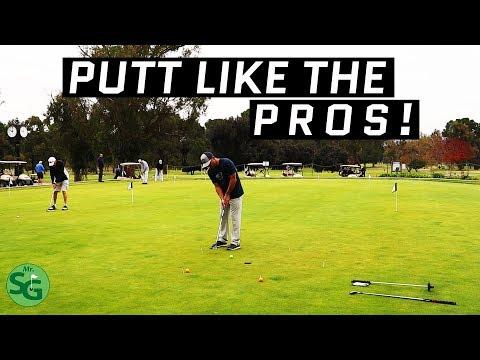 The Best Golf Putting Drills! Putt like a PGA Tour Pro!