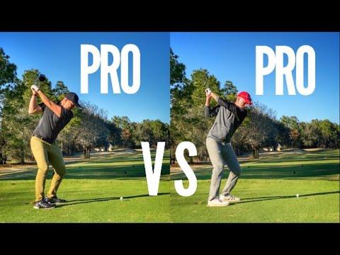 Pro Vs Pro Match Against Andrew Jensen | Golfing In Florida