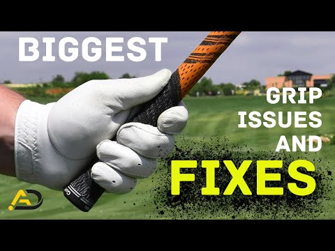 Biggest Golf Grip Errors and How to Fix Them | Alistair Davies Golf