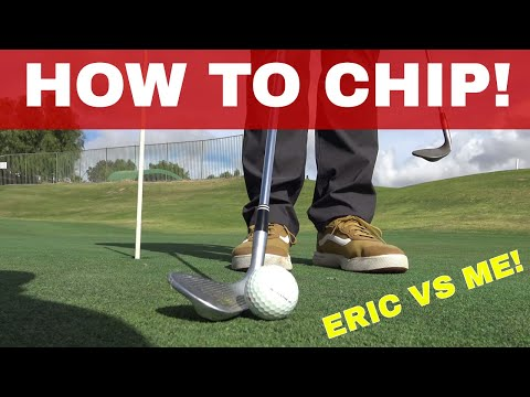 "HOW TO FIX CHIPPING YIPS AND ""PIG"" Vs Golf Champion Eric Meichtry, How to Improve your Short Game"