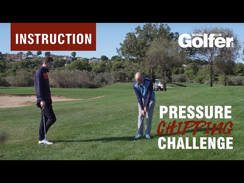 Short game tips: Improve your chipping with this on-course challenge