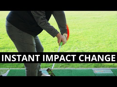 SEE HOW SAM CHANGED HIS IMPACT BY USING HIS PUTTER!!!