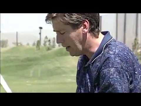 Ron Futrell with golf tip, driving
