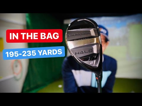 IN THE GOLF BAG 195 TO 235 YARDS
