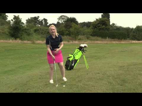 American Golf's Kim Crooks | Chipping uphill from the side of the green