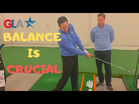For better golf swings and better golf shots – better BALANCE is the key.