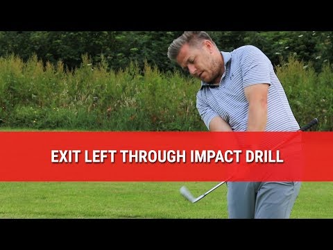 Swing Left Through Impact Drill – Consistent Follow Through For Your Golf Swing