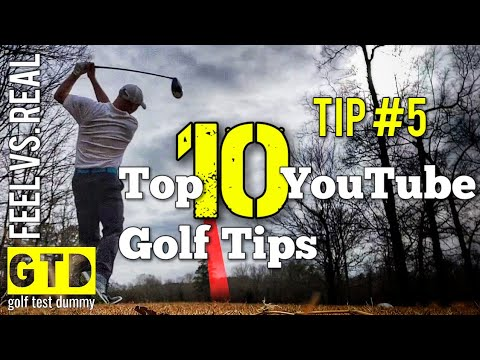 Feel vs. Real – Top 10 Tips From YouTube Golf Instructors – Tip 5 – Moe Norman – Golf Test Dummy