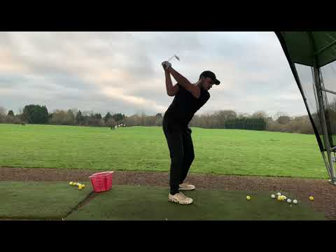 Golf Practice Range And Chipping