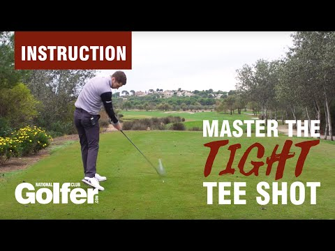 How to hit a tight tee shot with driver: Dan Whittaker tips
