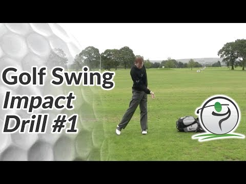 Golf Impact Drill – Snap your Left Knee for a Strong Left Side