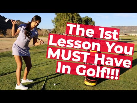 Tips with Tish: The 1st Lesson You MUST Have In Golf!! GSAP