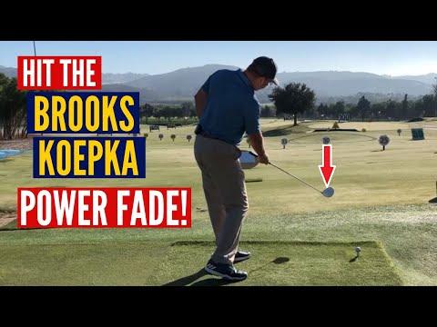 Hit the Brooks Koepka Power Fade!