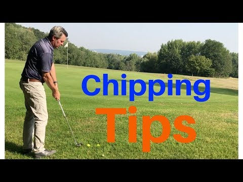Chipping Tips – 20 yard chip shot.