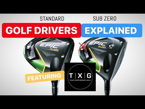 GOLF DRIVERS LOW SPIN DISTANCE DRIVERS