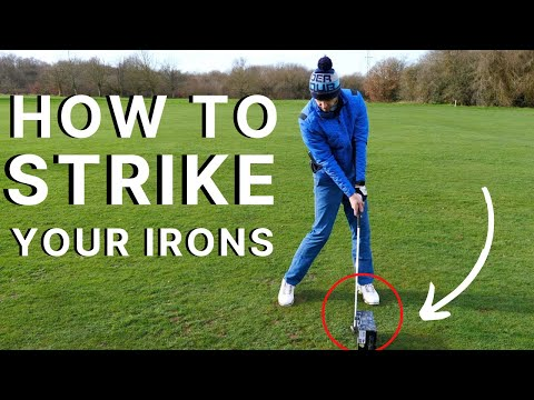 HOW TO STRIKE YOUR IRONS PURE – Beginner Golfers are going to love this SIMPLE GOLF TIP