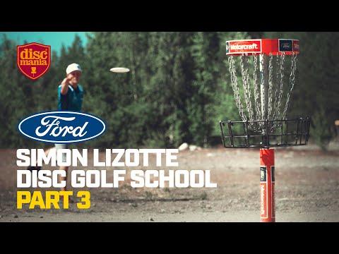 Simon Lizotte Disc Golf School, Part 3 – Putting