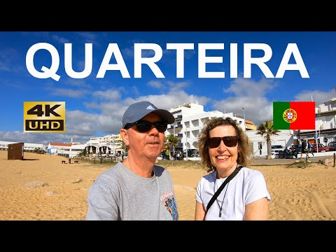 QUARTEIRA THE ALGARVE PORTUGAL 2020 –  A Tourist Walking Guide To The City
