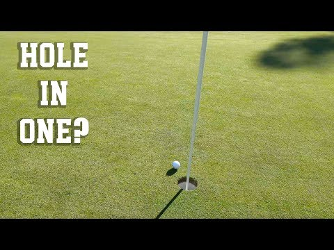 Did He Hit a Hole in ONE!?!