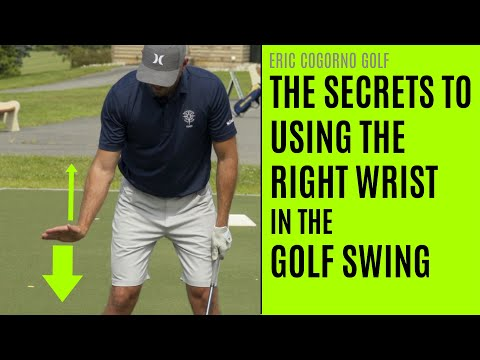 GOLF: The Secrets To Using The Right Wrist In The Golf Swing (Compilation)