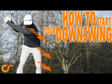 HOW TO START THE DOWNSWING – EASY METHOD