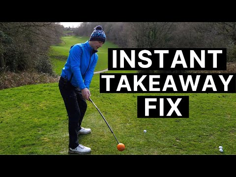 PERFECT GOLF SWING TAKEAWAY DRILL – For Your Driver & Irons