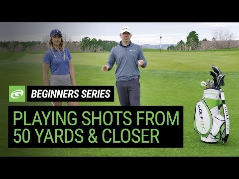 Golf for Beginners – Advice for approach shots from 50 yards & in