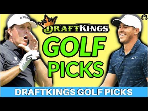 DRAFTKINGS GOLF Picks Genesis Invitational PICKS | Fantasy Golf DFS Picks 2020