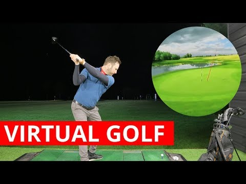HOW A PROFESSIONAL PLAYS 9 HOLES VIRTUAL GOLF