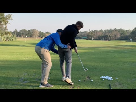 Crank the Legs & Shallow for More Speed & Crisper Contact – Golf Lesson – IMPACT SNAP