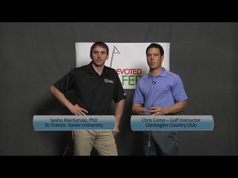 Sasho MacKenzie and Chris Como discuss the golf swing.