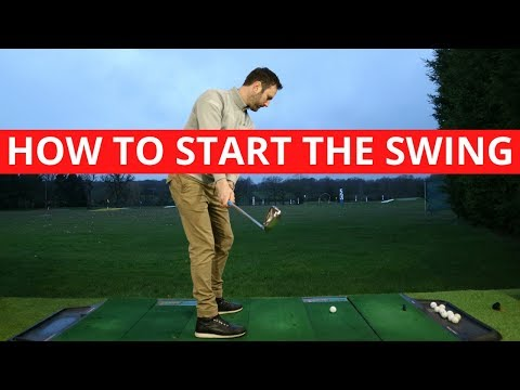 THE KEY MOVES THAT SHOULD START THE GOLF SWING