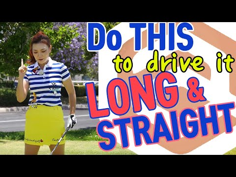 Do This to Drive it Long & Straight | Golf with Aimee