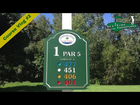 ON THE GOLF COURSE – Golf tips and swing lessons VLOG BLOG – Fun!  9 Holes – Pembroke Pines CC, NH