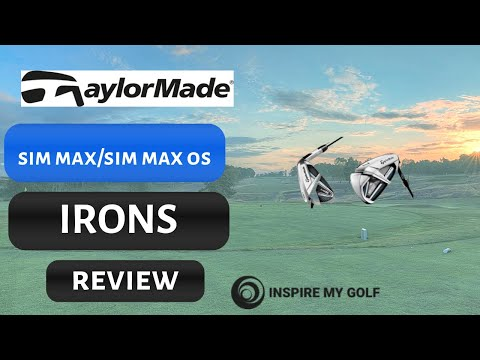 Taylormade SIM MAX  and SIM MAX OS Irons Review