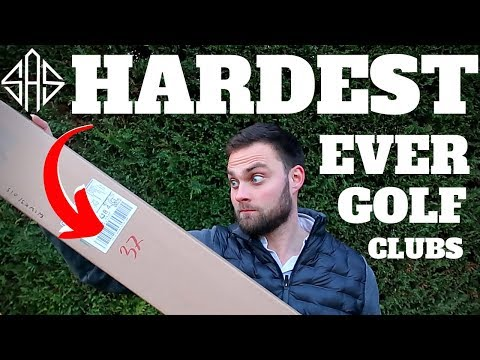 I BOUGHT THE HARDEST GOLF CLUBS FOR THIS ONE REASON