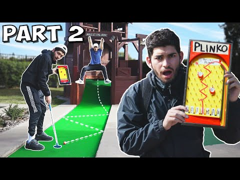 Random Mini Golf Match Part 2| PLINKO Golf!