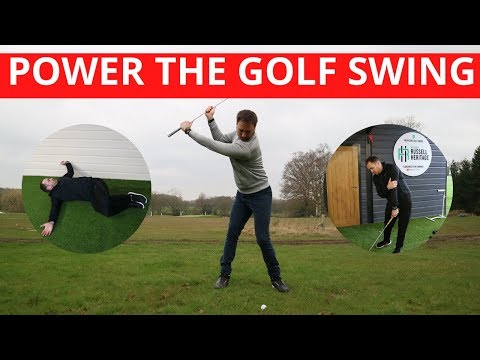 TWO DRILLS TO HELP POWER YOUR GOLF SWING