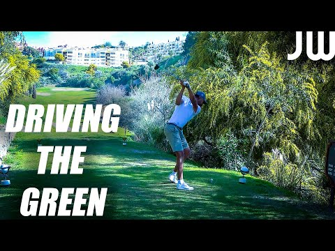 Pro Golf Competition Footage! | James Wiltshire + Leon Fricker | Front 9