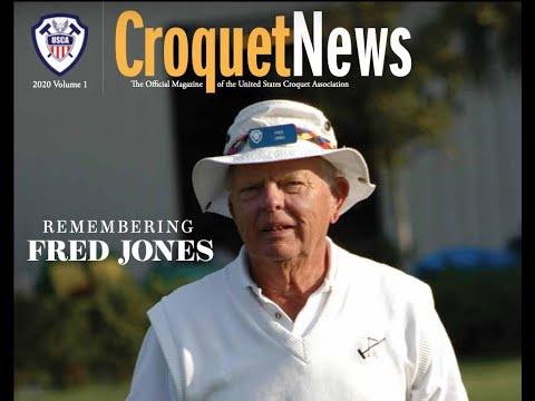 Croquet(US): Jones Invitational final –  White v  Bull