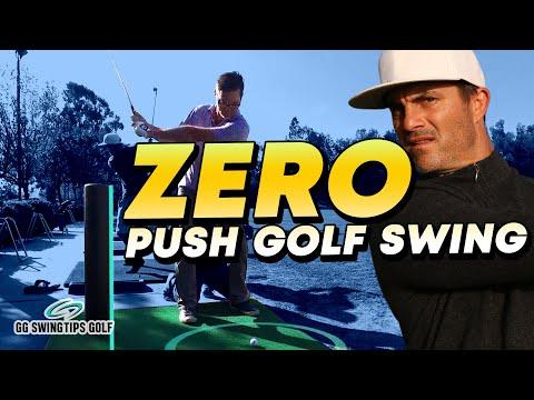 ZERO Push Golf Swing Rotation
