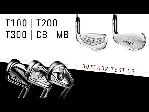Outdoor Testing – 2019 Titleist Irons | T-Series & 620