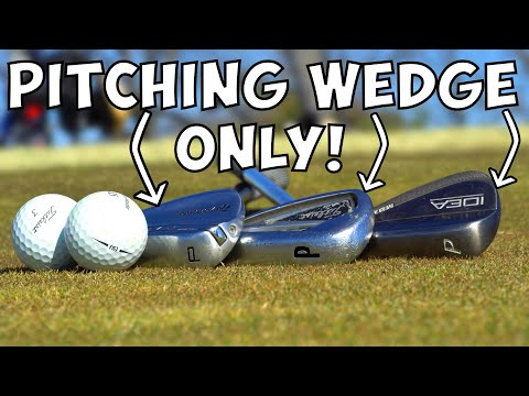 Insane Pitching Wedge Only Golf Challenge