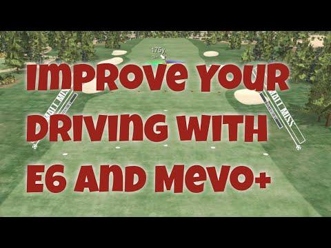 Improve Your Driver: E6 and Mevo+ Tee Shot Matrix