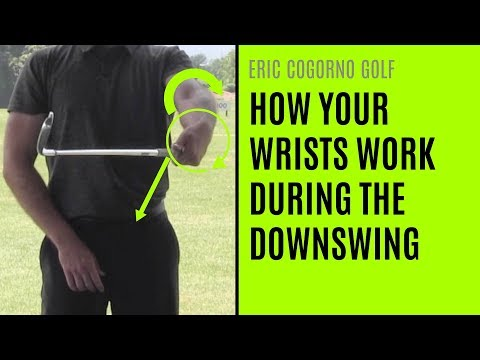 GOLF: How Your Wrists Work During The Downswing