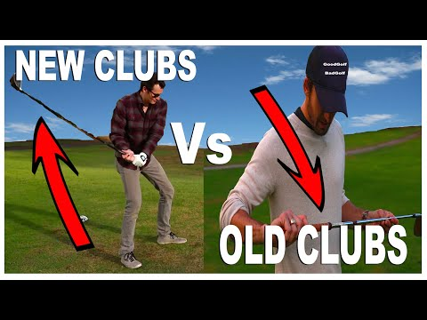 PGA Pro with Old Clubs VS Beginner with New Clubs